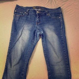 Size 13 Long Wet Seal Jeans